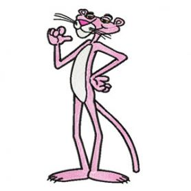 Pink Panther 1 machine embroidery design