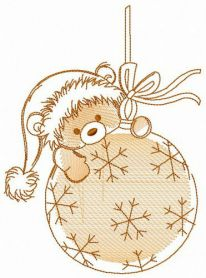 Xmas fun machine embroidery design