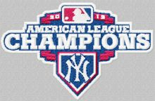 American League Champions New York Yankees logo