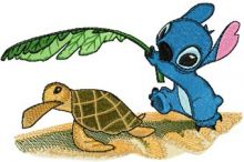 Stitch and Turtle