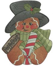 Peppermint gingedbread man