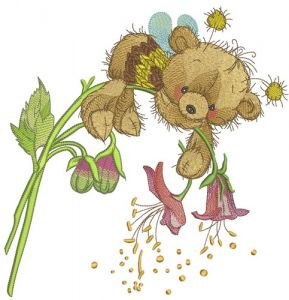 Teddy bear bee
