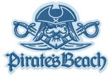 Pirate's beach Surfing team 3