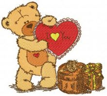 Teddy bear I love you 2