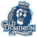Old Dominion University Athletics logo embroidery design