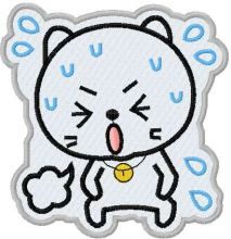 Sticker Angry kitty