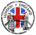 London England 2 embroidery design