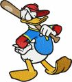 Donald Duck 1 embroidery design