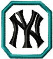 New York Yankees logo 1 embroidery design