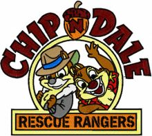 Chip & Dale Rescue Rangers big size
