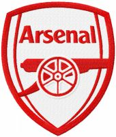 Arsenal red color logo
