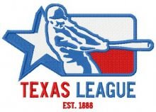 Texas league logo