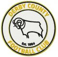 Derby country FC logo embroidery design