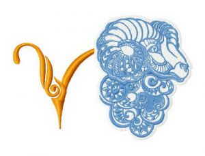 Zodiac sign Aries 4