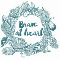 Brave at heart 3 embroidery design