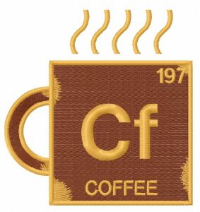 Coffee chemical element