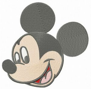 Mickey Mouse happy muzzle