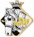The King Horse embroidery design