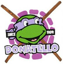 Donatello badge