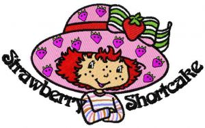 Strawberry Shortcake happy
