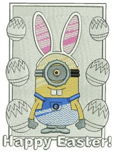 Happy Easter Minion