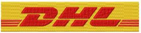 DHL  machine embroidery design
