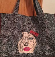 Beautiful embroidered bag in Halloween style