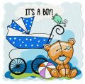It's a boy 2 embroidery design