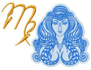 Zodiac sign Virgo 4