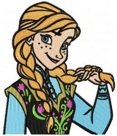 Anna coquette machine embroidery design
