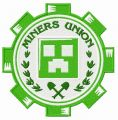 Miners Union logo embroidery design