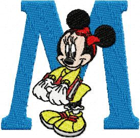Minnie Mouse 2 machine embroidery design