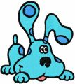 Blues Clues 4 embroidery design