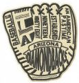 Arizona Diamondbacks glove embroidery design