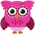Cute Owl 2 embroidery design