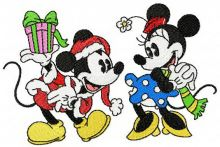 Christmas with Mickey Mouse