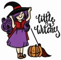 Little witches 3 embroidery design