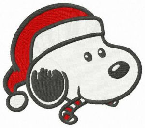 Snoopy likes candy cane