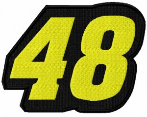 Jimmie Johnson 48 logo