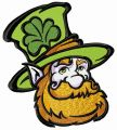 Leprechaun 6 embroidery design