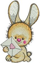 Bunny's letter