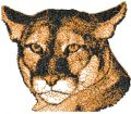 Puma free photo stitch embroidery design