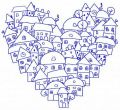 Heart of the city 3 embroidery design