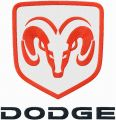 Dodge logo embroidery design