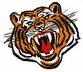 Bengal tiger 4 embroidery design