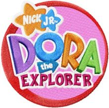 Dora the Explorer Logo 2