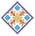 Square decoration 2 embroidery design