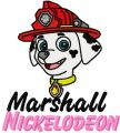 Marshall 2 embroidery design