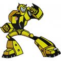 Transformers - Bumblebee 1  embroidery design