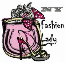 NY fashion lady